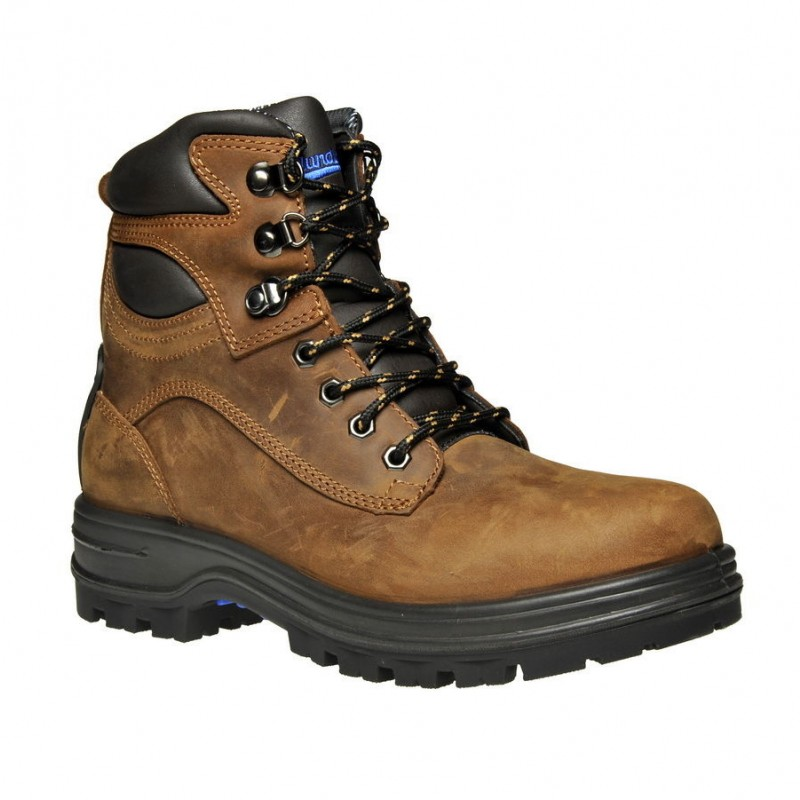 Blundstone Work Boots 143 Lace Up Steel Toe Safety