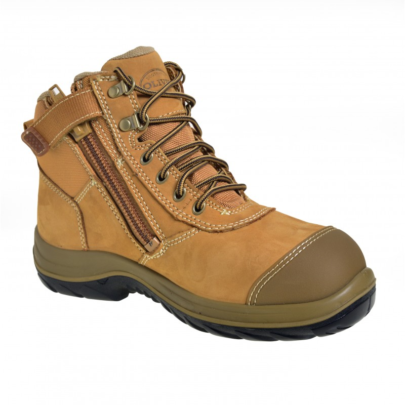 Savers Pack Oliver 34662 Safety Zip Side Work Boot