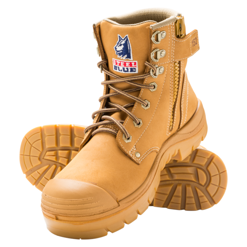 Steel Blue Argyle 332152 Wheat Work Boots Steel Toe Cap