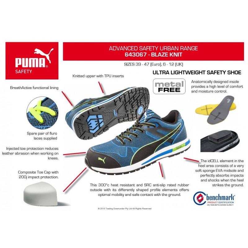 Puma Blaze Knit Safety Shoe