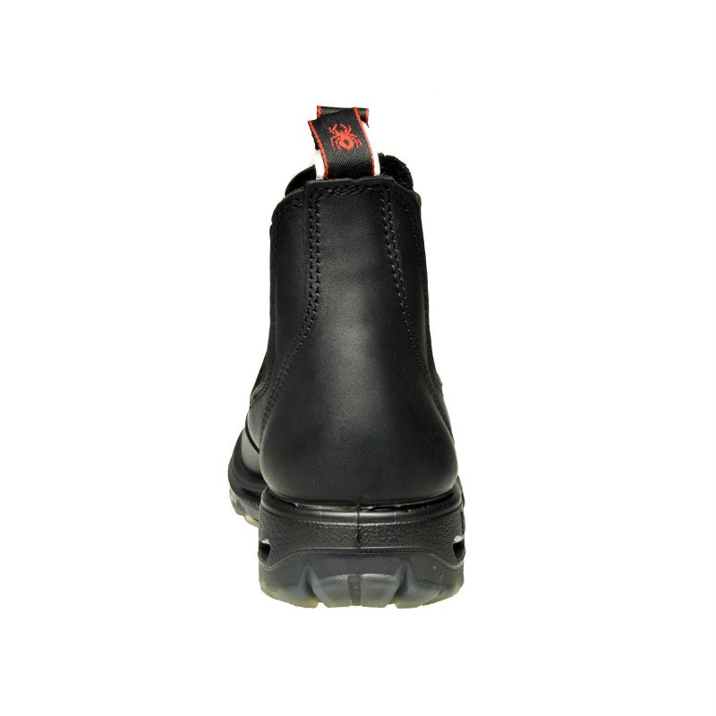 Redback Ubbk Non Safety No Steel Toe Black Work Boots