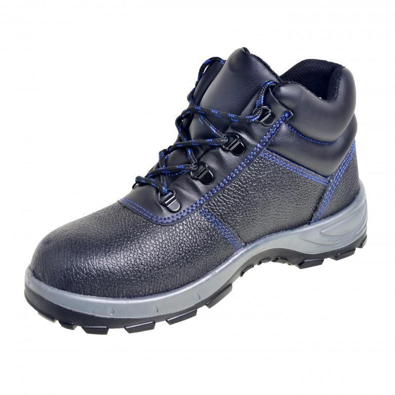 Tbw Safety Cobra Black 6 Inch Steel Toe Work Boot
