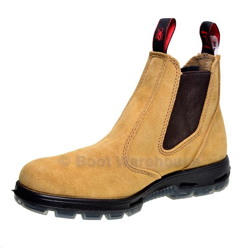 Redback Work Boots Usbba Steel Toe Cap Safety Elastic