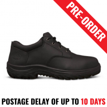 Oliver Work Boots 34652. Steel Toe Safety. Black Lace-Up Derby Shoe - Pre Order