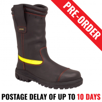 Oliver 66496 Pull On Structural Firefighter Boots. Water Proof. Flame Retardant - Pre Order