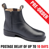 Blundstone 783 Executive Black Safety Black Work Boot, Zip Side - Pre Order