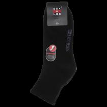 Sox & Lox Men's Cotton - Sports Midi Cut -Cushioned Heel And Toe -  B16