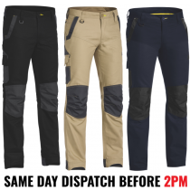 "Bisley ""BPC6130"" Mens FLEX & MOVE Stretch Work Pants"