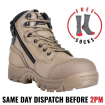 Magnum Precision Max Stone Zip Sided Waterproof Safety Boots MPN150