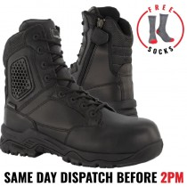 """Magnum Strike Force 8.0 """"MSF840 SAFETY"""" Black Men's Waterproof Tactical Boots"""