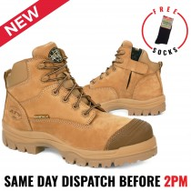 Oliver Stone 55350Z Safety 130mm Steel Toe Zip Work Boots NEW STYLE & COLOUR!