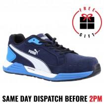 Puma Airtwist 644627 Blue / White Composite Toe Safety Shoe
