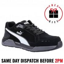 Puma Airtwist 644657 Black/ White Composite Toe Safety Shoe