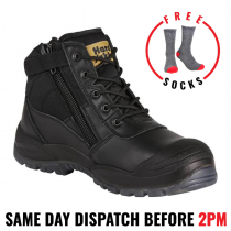 Hard Yakka Y60125 'UTILITY BLACK' Safety Work Boots