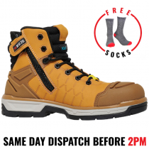 "KingGee ""K27115 WHEAT"" Quantum Composite Safety Work Boot"