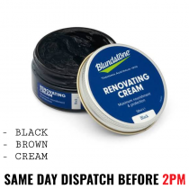 Blundstone Renovating Cream - Black, Brown & Cream