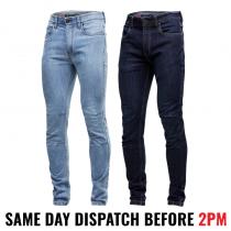 "KingGee ""K13006"" Men's Urban Coolmax, Stretch Denim Work Jeans"