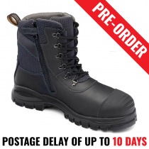Blundstone 982 Black Safety Chemical Retardant Boot - Pre Order