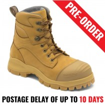 Blundstone 998 Wheat Safety Lace Up Work Boot - Pre Order