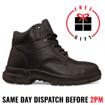 Oliver/Kings 15434 Black Safety Lace Up Work Boot