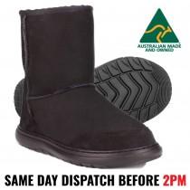 Shearers ACTIV UGG BLACK - Australian Made - Premium Wool - UGG Boot