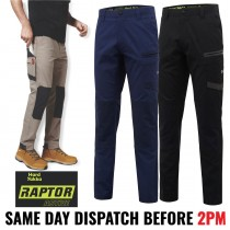 "Hard Yakka ""Y02441"" RAPTOR ACTIVE Work Pants - Slim Fit!"