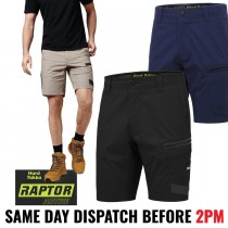"Hard Yakka ""Y05160"" RAPTOR ACTIVE Work Shorts - Slim Fit!"