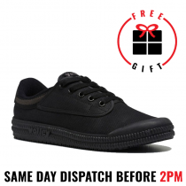 Volley Classic Super Grip Black. Non Steel Toe / Non Safety Work Shoe