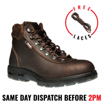 Redback UEPU Everest. Non Safety, Soft Toe, Work & Hiking Boots, Water Resistant.