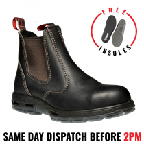 Redback USBOK Work Boots. Steel Toe Cap Safety . Elastic Sided Bobcat.
